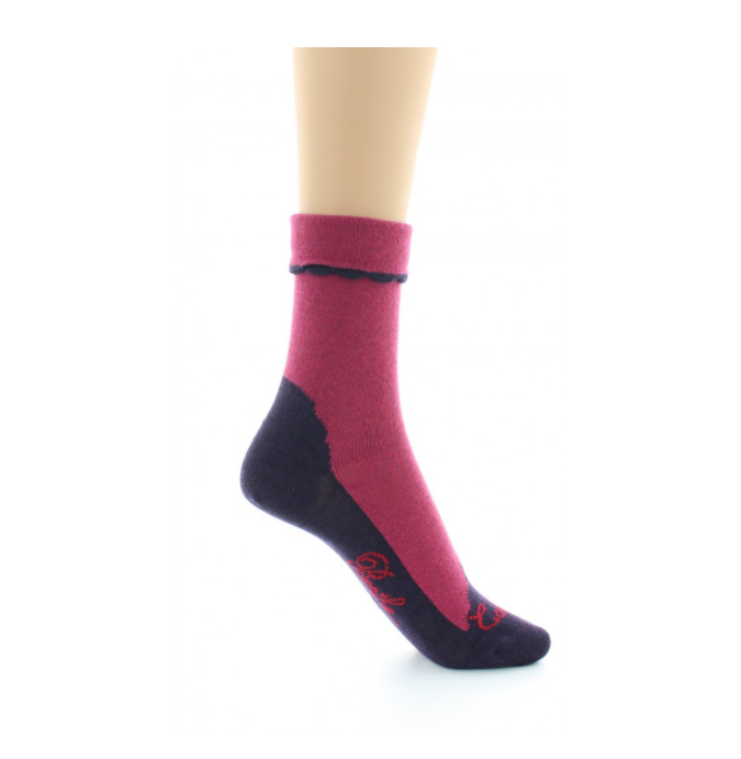 Chaussettes Cachemire Rose